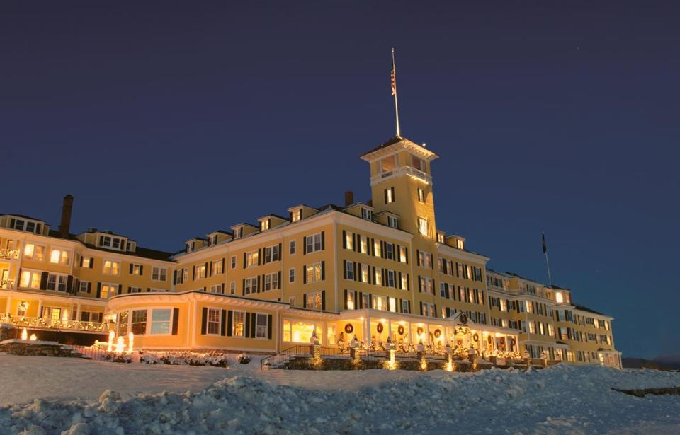 Mountain View Grand in Whitefield, New Hampshire.
